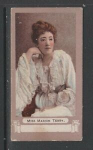 CIGARETTE CARDS Pritchard&Burton 1899 Actors & Actresses 'FROGA' - #C23 M Terry