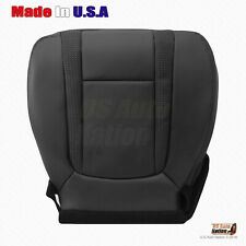 2010 2014 Ford F150 Svt Raptor Driver Bottom Perforated Leather Seat Cover Blk Fits Ford F 150