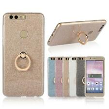 Slim Bling TPU Ring Stand Case Cover For Huawei Honor 4A 5A 5C 5X 3 7 8 V8 6X