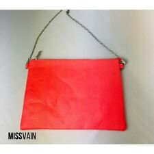 Neon Snakeskin Cross Body/Clutch Bag NEW
