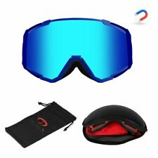 Winter Sports Snowboard Goggles For Double Layers Anti-fog Uv Resistance Glasses