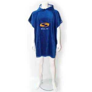 Sola Poncho Hooded Beach Triathlon Surf Changing Towel Robe