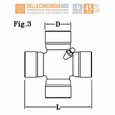 CROCIERA CARDANICA 27 x 81,7  Massey Ferguson / New Holland / Renault - CR 391