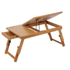 PORTABLE TABLE LAPTOP ADJUSTABLE TRAY BED FOLDABLE  DESK MATE TV DINNER AU