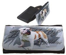 Frauen Geldbörse Brieftasche Englische Bulldogge 2 English Bulldog Portemonnaie