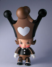 "MOLLY Qee RED HEART 2.5"" Trading Figure KennysWork Qee Collection 2007"