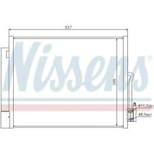 1 Condenseur, climatisation NISSENS 940156 convient à OPEL VAUXHALL