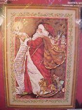 Janlynn Vintage Christmas Cross Stitch Kit Santas Wish List 0967 New Sealed Pkg