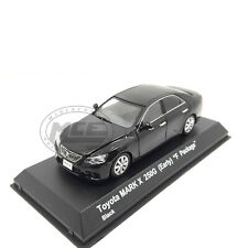 1/43COCHE CAR TOYOTA MARK X 250G (EARLY) F PACKAGE 2004 BLACK NEGRO KYOSHO
