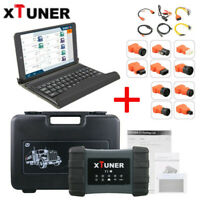 XTUNER T1 Heavy Duty Diesel Diagnostic Scanner Tool Truck Code Reader + Tablet