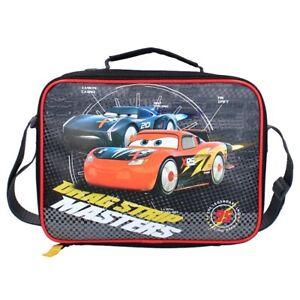 CARS LIGHTNING MCQUEEN LUNCH BAG. CAR LUNCH BAG BOYS SCHOOL LUNCH BAG