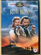 Rob Roy DVD1995 Scottish Folk Hero Action Movie Epic with Liam Neeson