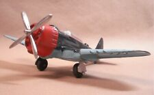 Nice Complete Hubley Diecast Navy Fighter Bomber Airplane - No. 495