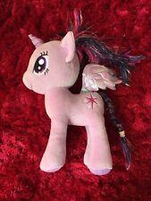 """TY Beanie My little pony purple unicorn twilight sparkle approx 11"""" soft toy"""
