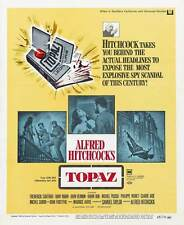 TOPAZ Movie POSTER 27x40 C John Forsythe Frederick Stafford Philippe Noiret