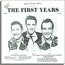 Elvis Presley - The First Years - New 1977 Scotty Moore LP Record!