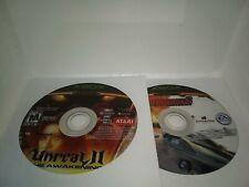 Microsoft Xbox Unreal 2 The Awakening Burnout 3 Takedown Lot Of 2 Games