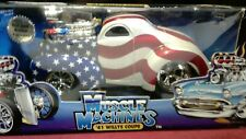 MUSCLE MACHINES 1941 WILLYS STARS AND STRIPES 1/18 SCALE