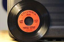 JERRY VALE 45 RPM RECORD...INV-2