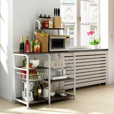 Freestanding Rack Microwave Oven Shelf Kitchen Storage Table Rack US Stock