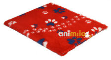 Tapis Confortbed Vetbed Dry Extra Traces Pattes,26 mm 100x150 cm rouge