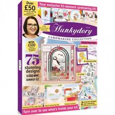 HUNKYDORY CARDMAKING COLLECTION MAGAZINE ISSUE 5 FREE  EMBOSSING FOLDER PAPERS +