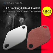 10 x VW EGR Blanking Plate & Gasket Lupo Bora Polo Golf T4 T5 Caddy Beetle