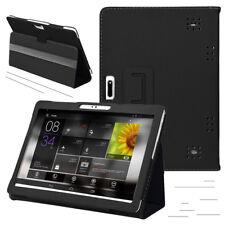 10 / 10,1 Zoll Tablet PC Universal Tasche Hülle Schutz Case Etui Cover Schwarz