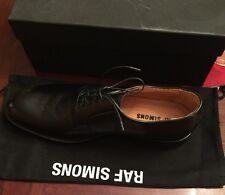 RAF SIMONS Black Leather Men's Shoe New In Box Size 45