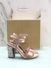 Sandalo Michael Kors Donna Modello Tori Soft Pink Con Tacco Donna 37.5