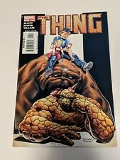 The Thing #4 April 2006 Marvel Comics