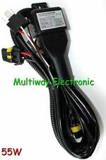 Relay Harness For 55W H4/9003/HB2 Dual Hi/Lo Beam Bi-xenon HID Conversion Kit