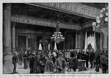 WHITE HOUSE EAST ROOM WASHINGTON NEW ORLEANS EXPOSITION
