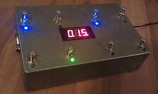 Programable Midi 8 Looper-True Bypass-Guitarra bucle de efectos Pedal-Aluminio