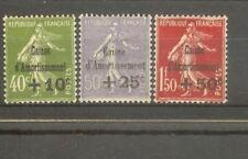 "FRANCE STAMP TIMBRE N°275/77 ""CAISSE AMORTISSEMENT 5ème SERIE 1931"" NEUFS xx SUP"