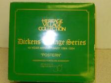 Dept 56 -9871-0 Retired- Postern - Dickens Village Series- - New- L126