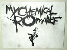 Canvas Painting My Chemical Romance Black Parade B&W Art 16x12 inch Acrylic