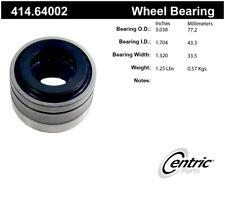 Axle Shaft Repair Bearing-Premium Bearings Rear Centric 414.64002