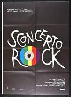 Werbeplakat Verwirrung Rock Bertolucci Manuzzi Gianna Nannini Morlotti Victor