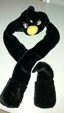 Kids Children Warm Cartoon Animal Hat Mask Scarf Mittens Costume.