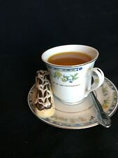 FAKE! China CUP of TEA & PASTRY Food Beverage Display/Decor; Looks REAL~ ISN'T!