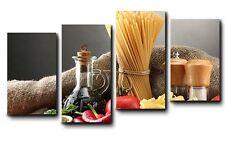 Quadri Moderni Stampe su Tela Canvas Cm 140x75 4 PezziDesign Arredo Casa Cucina