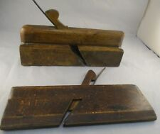 Vintage Retro Wooden Moulding Planes - Great Display Items  - Wm Moss