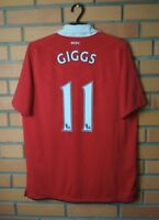 Giggs Manchester United Jersey 2010 2011 Home LARGE Shirt Nike Football Soccer
