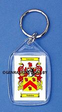 NICHOLSON (SCOTTISH) COAT OF ARMS KEY RING