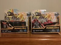 "Transformers Energon Igniters 5"" Set Of Hot Rod & Shatter E0752 / E0757 Hasbro"