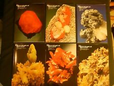 Mineralogical Record Magazine 1996 6 Issues