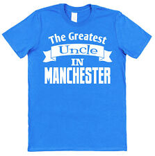 Personalised (Any Place) Greatest Uncle T-Shirt Gift for Uncle Present Idea