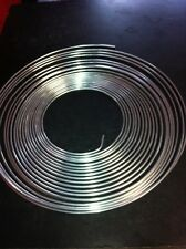 "BRAKE PIPE 1/4"" ZINC COATED 20M ROLL STAINLESS LOOK"