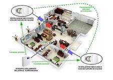 Kit ricambio aria recupero calore controllo umidità sensore CO2 wireless 150 PRO